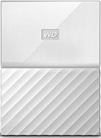 "Жесткий диск WD Original USB 3.0 2Tb WDBLHR0020BWT-EEUE My Passport 2.5"" белый"