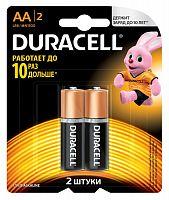 Батарея Duracell Basic CN LR6-2BL MN1500 AA (2шт)