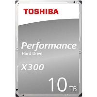 "Жесткий диск Toshiba SATA-III 10Tb HDWR11AEZSTA X300 (7200rpm) 256Mb 3.5"" Rtl"
