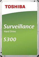 "Жесткий диск Toshiba SATA-III 4Tb HDWT140UZSVA Surveillance S300 (5400rpm) 128Mb 3.5"""
