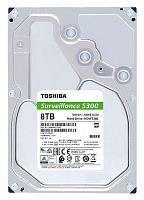 "Жесткий диск Toshiba SATA-III 8Tb HDWT380UZSVA Surveillance S300 Pro (7200rpm) 256Mb 3.5"""