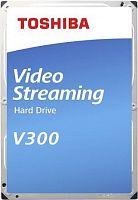 "Жесткий диск Toshiba SATA-III 1Tb HDWU110UZSVA Video Streaming V300 (5700rpm) 64Mb 3.5"""