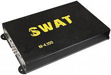 Усилитель автомобильный Swat M-4.100 четырехканальный