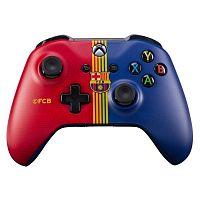Геймпад Беспроводной Microsoft ФК Барселона красный/синий для: Xbox One (TF5-00004-FCB)