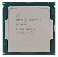 Процессор Intel Core i5 8600 Soc-1151v2 (3.1GHz/Intel UHD Graphics 630) Box