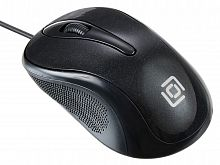 Мышь Oklick 385M черный оптическая (1000dpi) USB для ноутбука (3but)