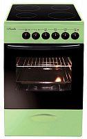 Плита Электрическая Лысьва ЭПС 411 МС зеленый стеклокерамика
