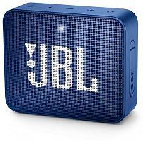 Колонка порт. JBL GO 2 синий 3W 1.0 BT/3.5Jack 730mAh (JBLGO2BLU)