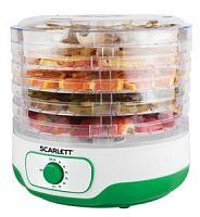Сушка для фруктов и овощей Scarlett SC-FD421011 5под. 250Вт зеленый