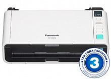 Сканер Panasonic KV-S1037X Wi-Fi (KV-S1037X-X) A4 белый/черный