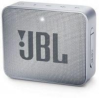 Колонка порт. JBL GO 2 серый 3W 1.0 BT/3.5Jack 730mAh (JBLGO2GRY)