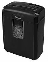 Шредер Fellowes MicroShred 8MC (секр.P-4)/фрагменты/8лист./14лтр./скобы/пл.карты