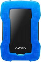 "Жесткий диск A-Data USB 3.0 1Tb AHD330-1TU31-CBL HD330 DashDrive Durable 2.5"" синий"