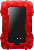 """Жесткий диск A-Data USB 3.0 2Tb AHD330-2TU31-CRD HD330 DashDrive Durable 2.5"""" красный"""