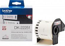 Картридж ленточный Brother DK22251 для Brother QL-570