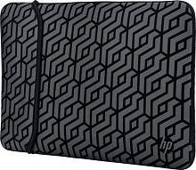 "Чехол для ноутбука 15.6"" HP Chroma Geo Rev серый/черный неопрен (2TX17AA)"