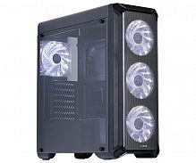 Корпус Zalman i3 черный без БП ATX 2x120mm 2xUSB2.0 1xUSB3.0 audio bott PSU