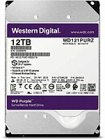 "Жесткий диск WD Original SATA-III 12Tb WD121PURZ Purple (7200rpm) 256Mb 3.5"""