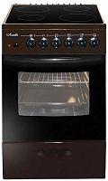 Плита Электрическая Лысьва ЭПС 404 МС коричневый стеклокерамика