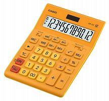 Калькулятор настольный Casio GR-12C-RG оранжевый 12-разр.
