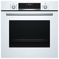 Духовой шкаф Электрический Bosch HBG537NW0R белый