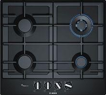 Газовая варочная поверхность Bosch PCH6A6B90R черный