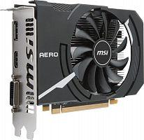 Видеокарта MSI PCI-E Radeon RX 550 AERO ITX 4G OC AMD Radeon RX 550 4096Mb 128 GDDR5 1203/6000 DVIx1/HDMIx1/DPx1/HDCP Ret