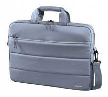 """Сумка для ноутбука 15.6"""" Hama Toronto серый/голубой нейлон (00101851)"""