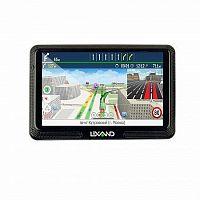 """Навигатор Автомобильный GPS Lexand CD5 HD 5"""" 800x480 4Gb microSDHC FM-Transmitter черный Прогород Россия + 60 стран"""