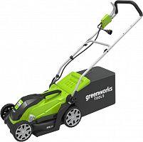 Газонокосилка роторная Greenworks GLM1035 (2505107) 1000Вт