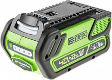 Батарея аккумуляторная Greenworks G40B4 40В 4Ач Li-Ion (29727)