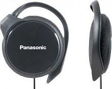 Наушники накладные Panasonic RP-HS46E 1.1м черный проводные крепление за ухом (RP-HS46E-K)