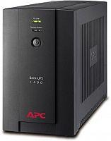 Источник бесперебойного питания APC Back-UPS BX1400U-GR 700Вт 1400ВА черный