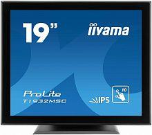 "Монитор Iiyama 19"" T1932MSC-B5X черный IPS LED 14ms 5:4 HDMI M/M матовая 1000:1 250cd 178гр/178гр 1280x1024 D-Sub DisplayPort HD READY USB Touch 6.9кг"