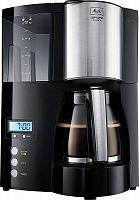 Кофеварка капельная Melitta Optima Timer 850Вт черный