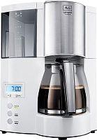 Кофеварка капельная Melitta Optima Timer 850Вт белый