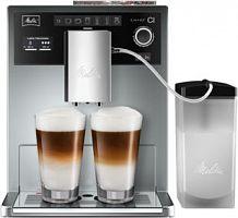 Кофемашина Melitta Caffeo E 970-101 CI 1450Вт серебристый