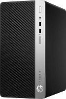 ПК HP ProDesk 400 G5 MT i5 8500 (3)/4Gb/500Gb 7.2k/UHDG 630/DVDRW/Windows 10 Professional 64/GbitEth/180W/клавиатура/мышь/черный