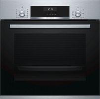Духовой шкаф Электрический Bosch HBJ558YS0Q нержавеющая сталь/черный