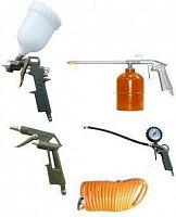 Набор пневмоинструментов Вихрь НП-5 компл.:5 предметов