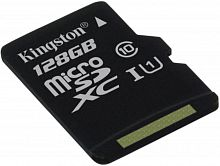 Флеш карта microSDXC 128Gb Class10 Kingston SDCS/128GBSP Canvas Select w/o adapter