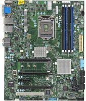 Материнская Плата SuperMicro MBD-X11SAT-F-O Soc-1151 iC236 ATX 4xDDR4 6xSATA3 SATA RAID i210AT/219LM 2хGgbEth Ret