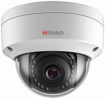 Видеокамера IP Hikvision HiWatch DS-I102 4-4мм цветная корп.:белый