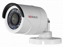 Камера видеонаблюдения Hikvision HiWatch DS-T100 6-6мм HD-TVI цветная корп.:белый