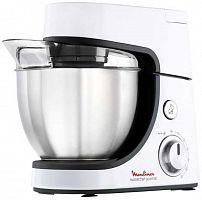 Кухонный комбайн Moulinex QA51AD10 1100Вт серебристый/черный