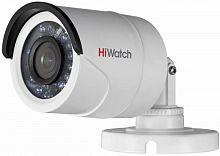 Камера видеонаблюдения Hikvision HiWatch DS-T200P 6-6мм HD-TVI цветная корп.:белый