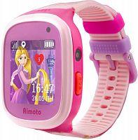 """Смарт-часы Кнопка Жизни Disney Принцесса Рапунцель 1.44"""" TFT розовый (9301104)"""