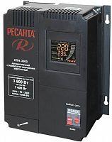 Стабилизатор напряжения Ресанта СПН-3600 электронный однофазный черный