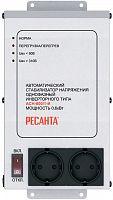 Стабилизатор напряжения Ресанта АСН-600/1-И электронный однофазный серый
