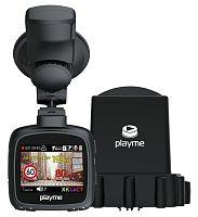 Видеорегистратор с радар-детектором Playme MAXI GPS черный